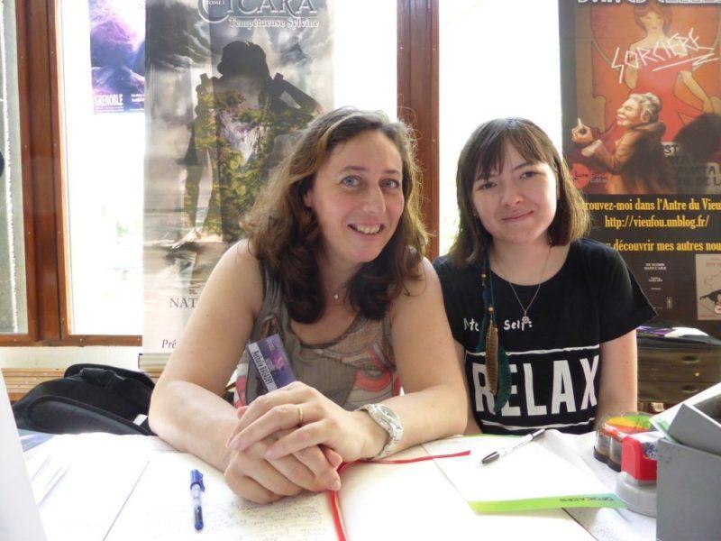 Convention Nationale SF 2017 - dédicaces - Zelda