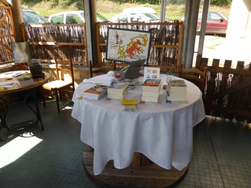 Cafés littéraires Royans - ma table