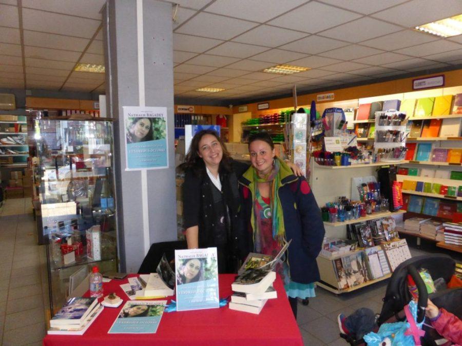 Dédicaces Livron - Avec Amandine