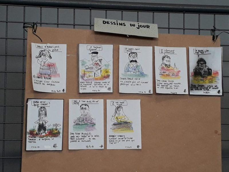 Montredon Labessonnié - Caricatures d'Alain Guillemot