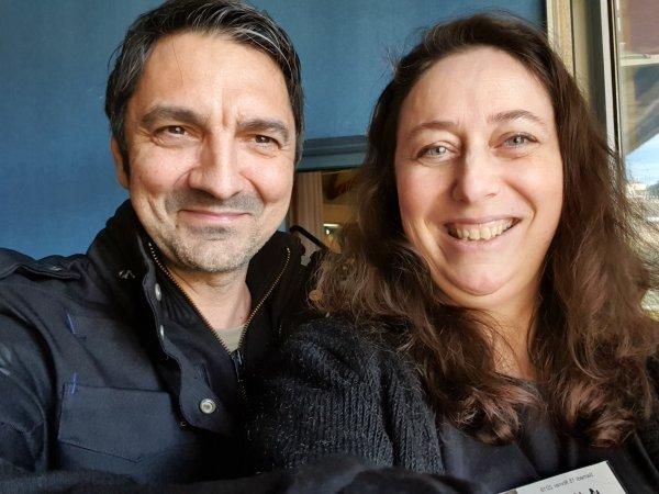 Nathalie Bagadey et Fred Moulin à Terre du Geek 3