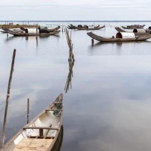 foto achter plexiglas laguna vietnam