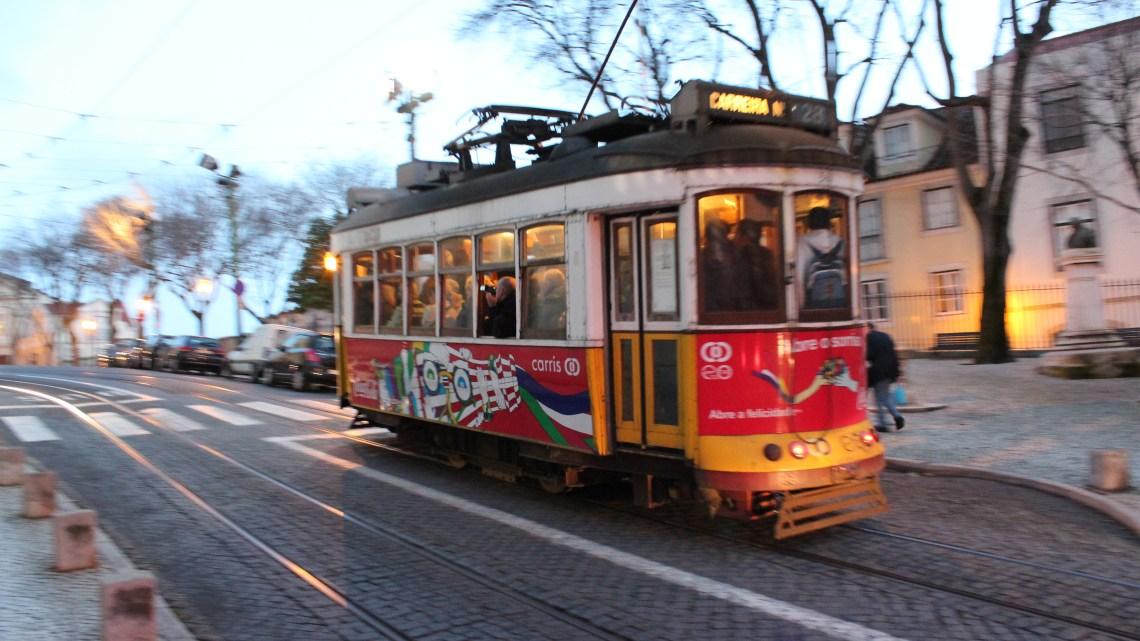 Le Tramway 28 de Lisbonne