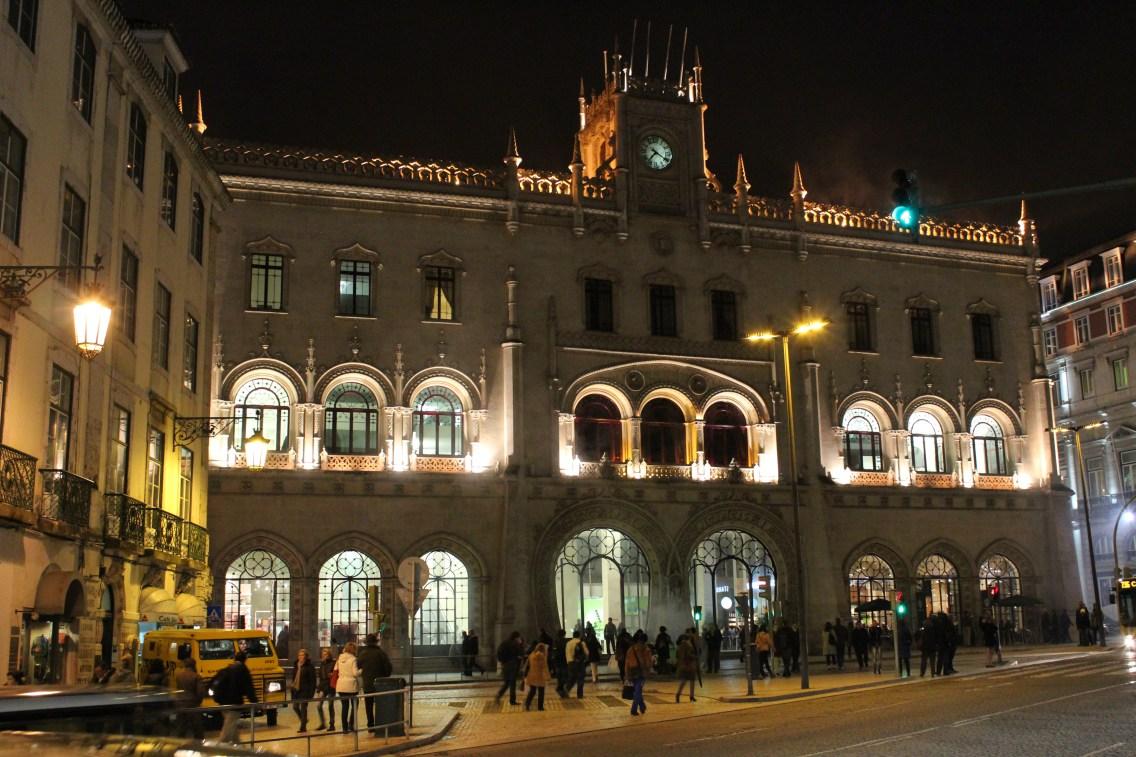La Gare de Lisbonne