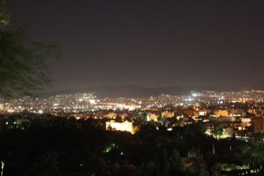 Athènes la nuit