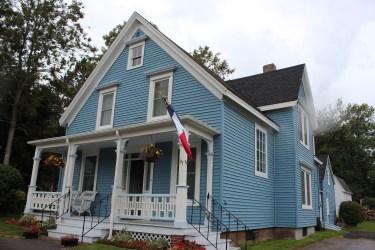 maison d'une famille acadienne