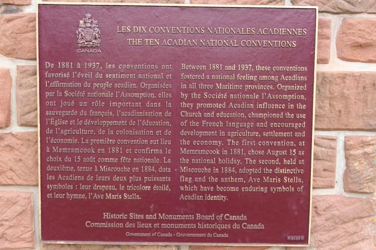 Musée de l'Acadie..à voir absolument