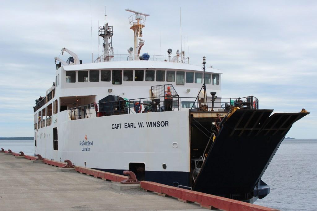 Notre ferry depuis Farewell vers Change et Fogo islands