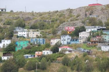colorés les faubourgs de Saint-John's