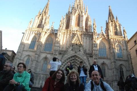 La Cathédrale de Barcelona dans le Barri Gótic
