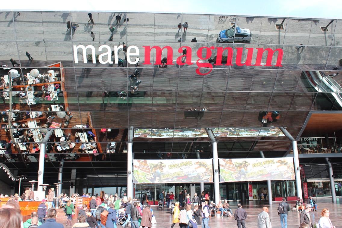 Mare Magnum, grand centre commercial sur le port