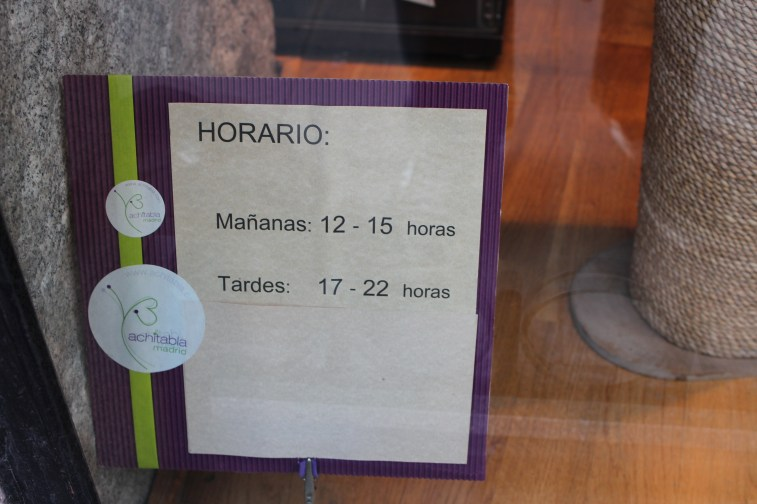 Les espagnols n'ont pas le même mode de vie que nous
