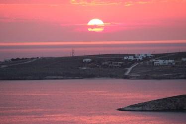 dans les Cyclades...