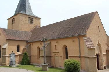 L'église de Châteauneuf