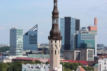 Contraste avec le Tallinn moderne