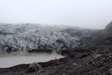 Le glacier de Solheimajökull