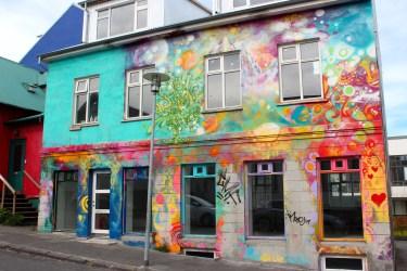 Reykjavik tout en couleur