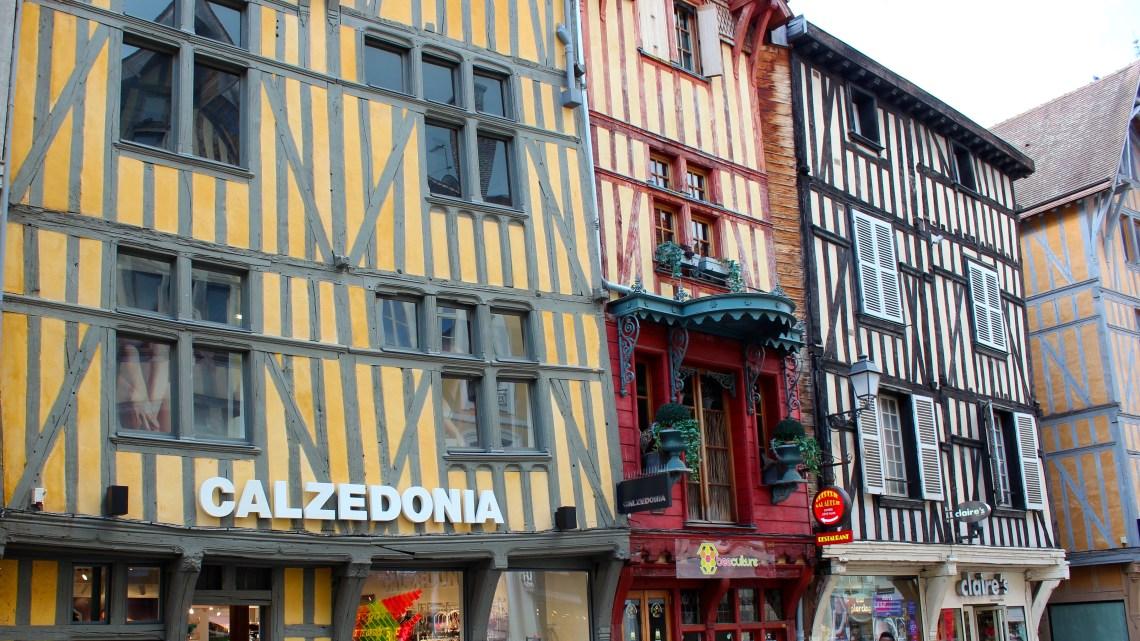 Les colombages de Troyes…
