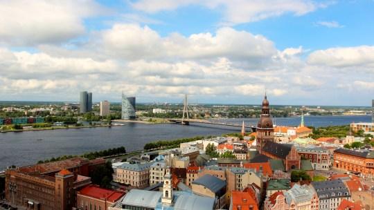 Quelques images de Riga, Lettonie…