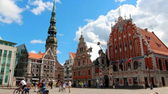 Riga, Latvija, joyau de la Baltique…