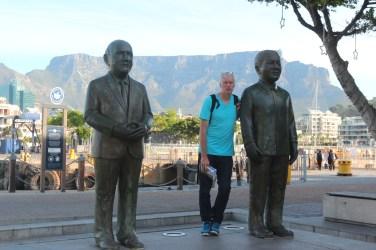 F. de Klerk et Nelson Mandela