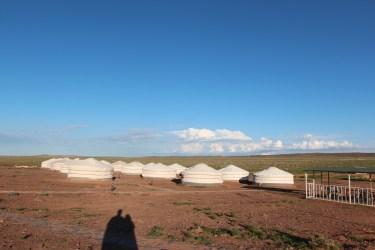 notre premier camp de yourtes