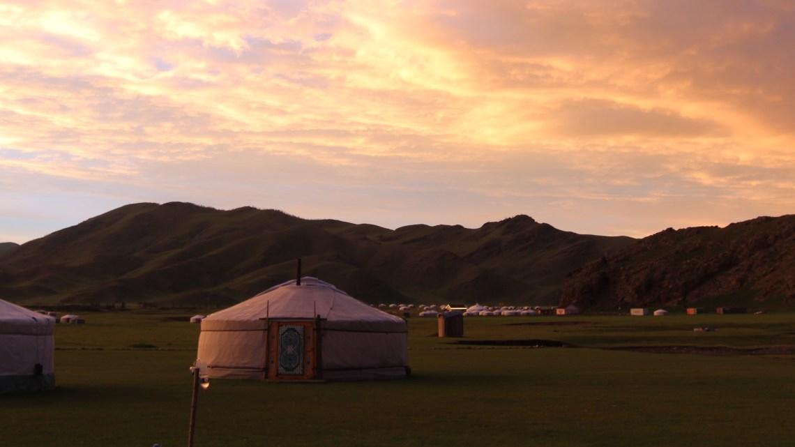 Destination Mongolie…