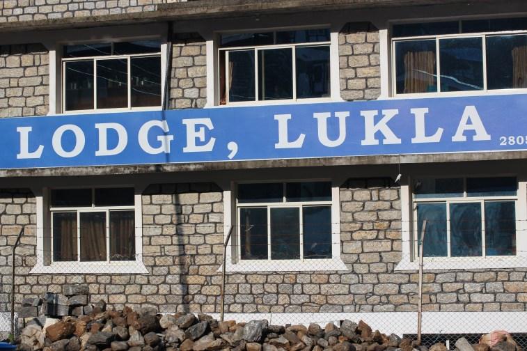 On est arrivé à Lukla