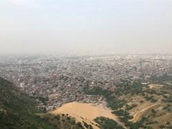 Vue de Jaipur depuis Amber