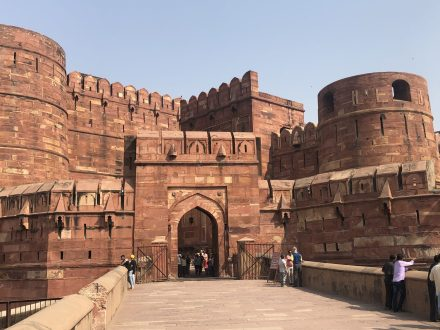 Entrée du Fort d'Agra