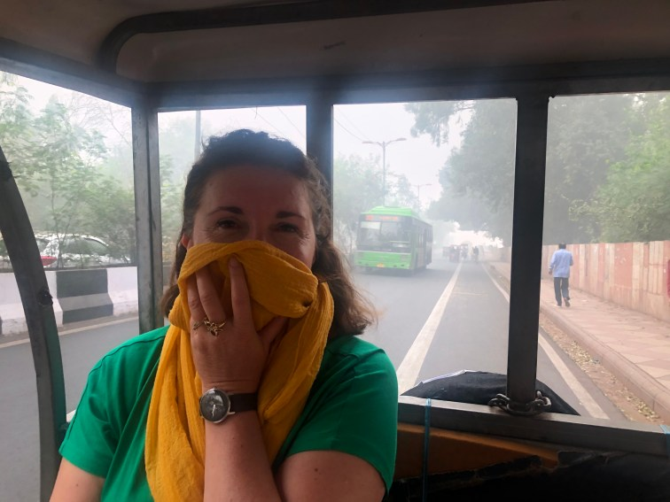 Pollution à Delhi