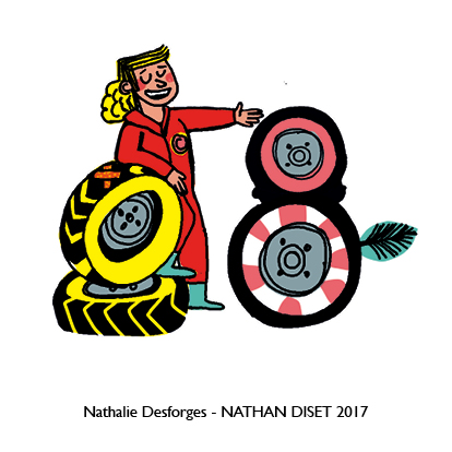 Nathalie Desforges jeu de cartes orthographe - Nathan Diset9