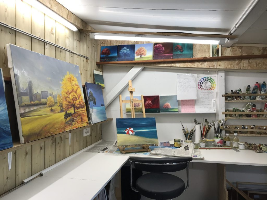 peinture, atelier, atelier de peinture, cours de peinture, apprendre la peinture acrylique, apprendre à peindre avec l'huile, exprimer sa créativité picturale