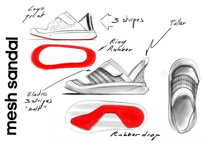sandal-mesh