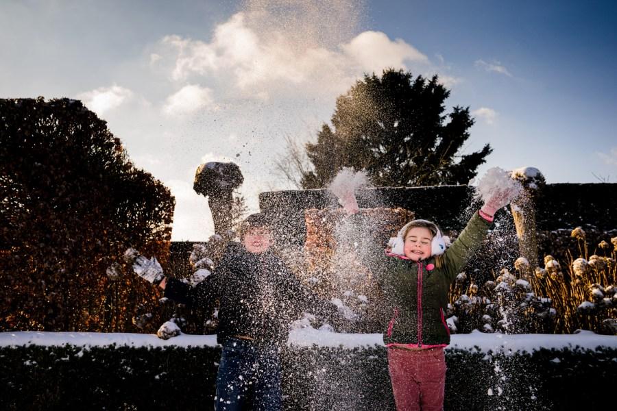 Foto gezin kerst najaar Dessel Retie Turnhout