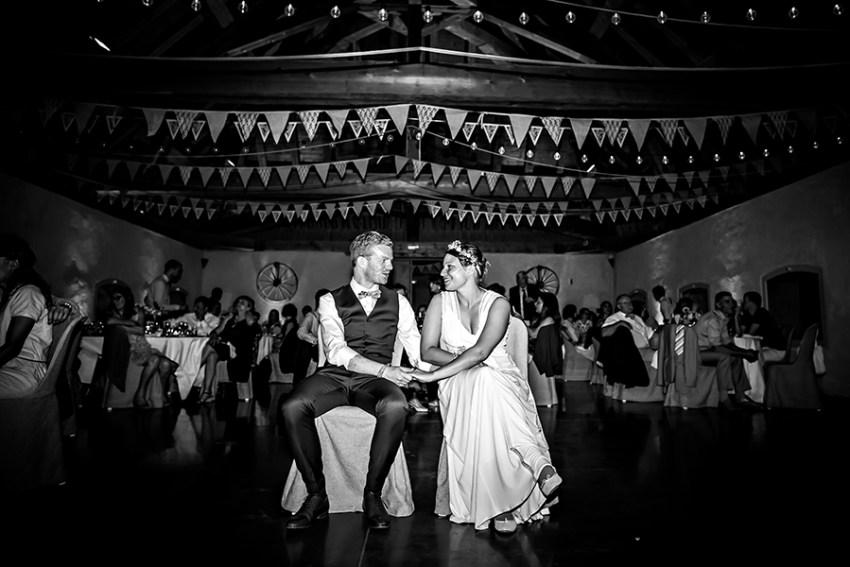 photo de soirée de mariage Ferme de gy