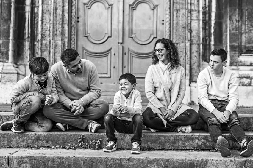 Séance photo de Famille dans Lyon