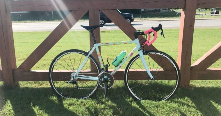 Hubby built a bike!