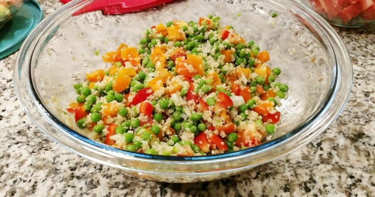 What's cookin' Wednesday: Quinoa Salad