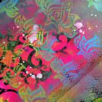 Lily Wallpaper Stencil Inspiration