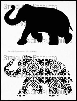 Elephant Parade Stencil