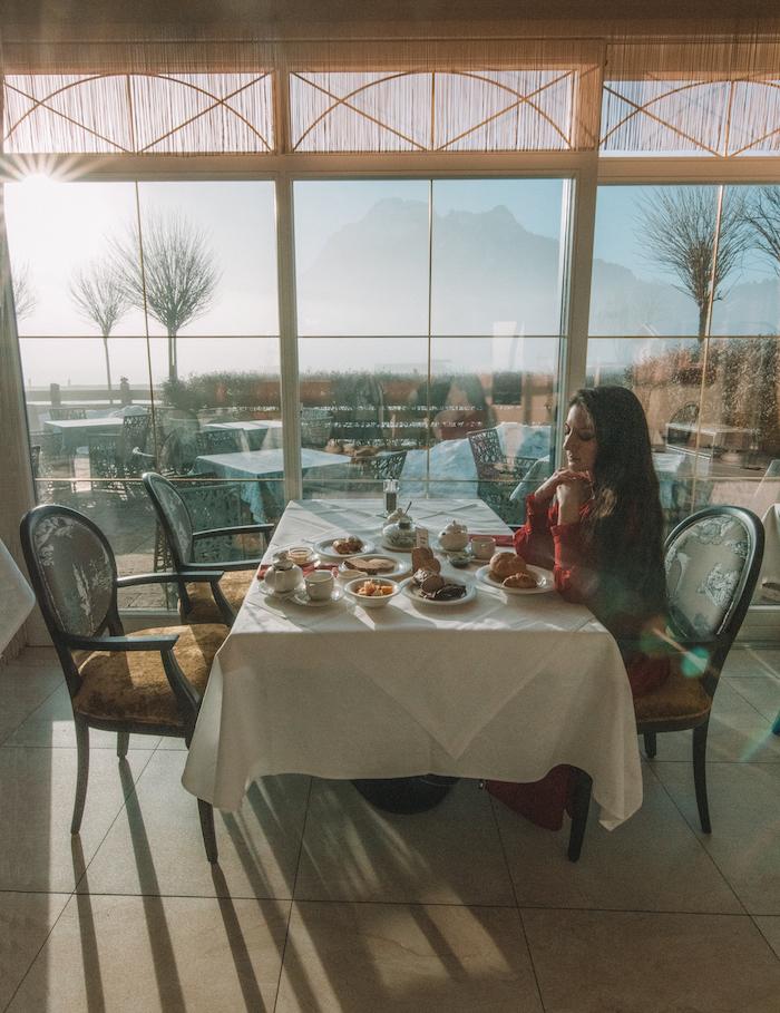 Breakfast hotel das rubezahl
