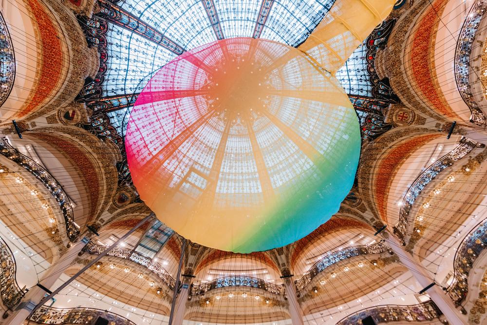 Funorama at Galeries Lafayette