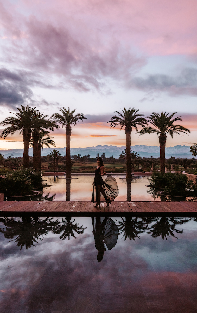 Fairmont Royal Palm Marrakesh sunrise