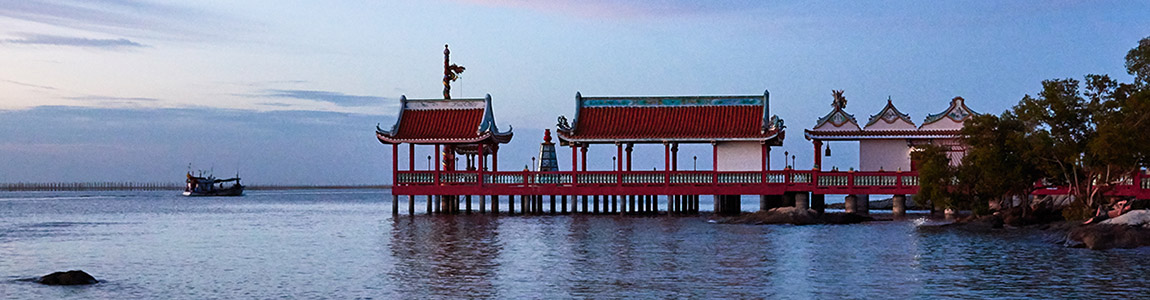 Chinese Shrine On the Sea