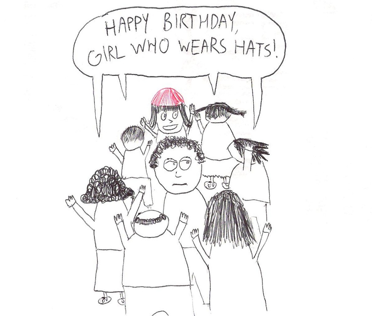 The Ubiquitous Nature of The Girl Who Wears Hats–A Story