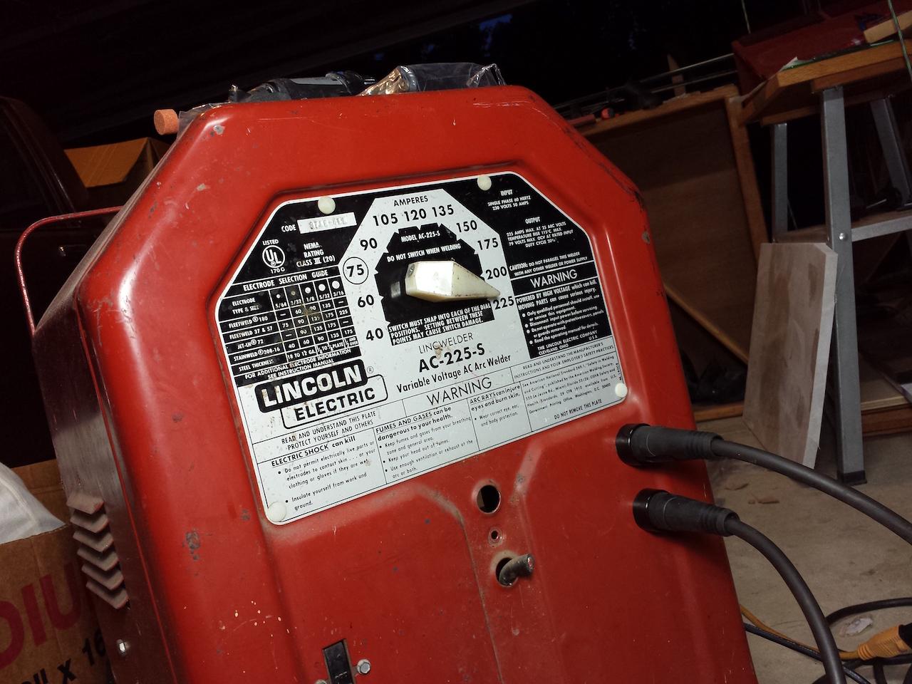 lincoln 225 arc welder wiring diagram symbol twisted pair idealarc mig