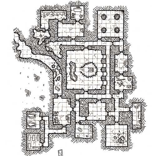 Mapa de rol Gratis en Nathandor - El trono de Tzin