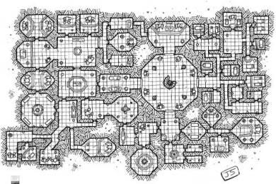 Mapa de rol Gratis Las catacumbas de Traphia