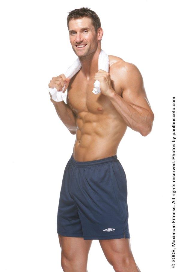 Maximum Fitness Magazine shoot
